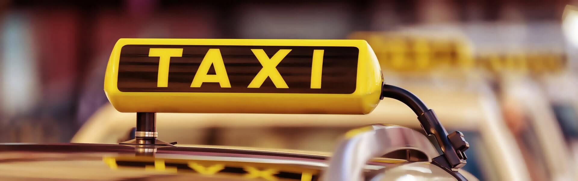 Taxi Header Bild